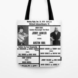 #5 Memphis Wrestling Window Card Tote Bag