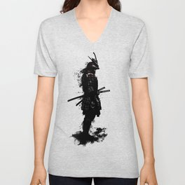Armored Samurai Unisex V-Neck