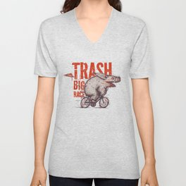 Trash BIG RACE Unisex V-Neck
