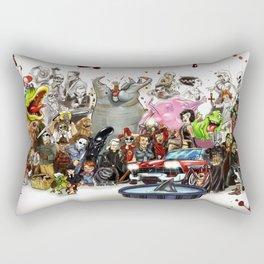 the horror....THE HORROR Rectangular Pillow