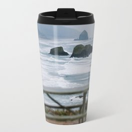 Haystack Rock view from Ecola 2 Travel Mug