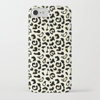 leopard iPhone & iPod Cases featuring Leopard by Laura Maria Designs