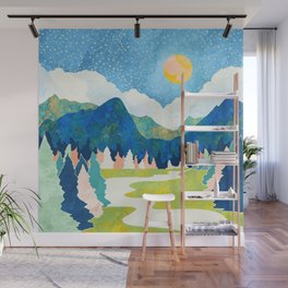 Spring River Wall Mural