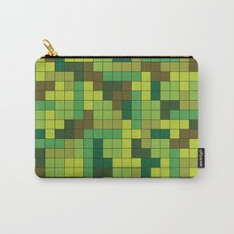 Tetris Camouflage Forest Carry-All Pouch