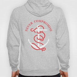 THE SAILOR IS NEVER COMPROMISE Hoody