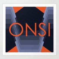 ONSI2 Art Print