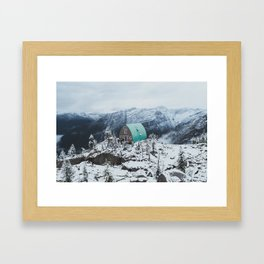 Conrad Kain Hut Framed Art Print