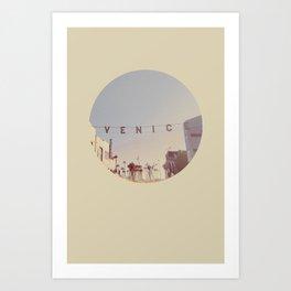 VENICE BEACH / California Art Print
