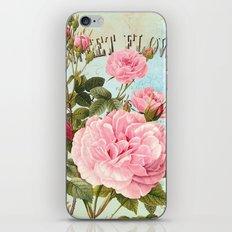 Vintage Flowers #2 iPhone Skin