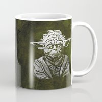 yoda Mugs featuring Yoda by Some_Designs