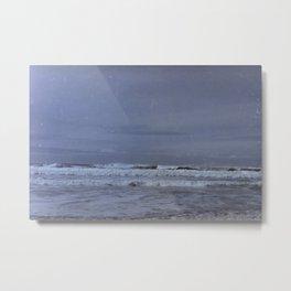 Waves along the Oregon Coast Metal Print
