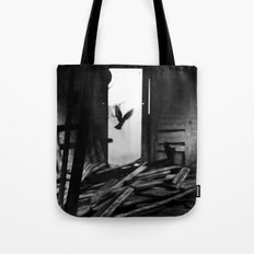 Abandoned Buildings have also Dwellers Tote Bag