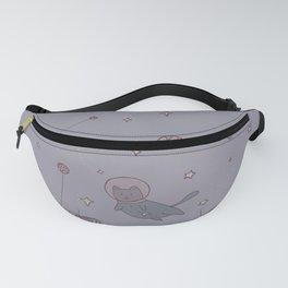Astronaut cat in outer space Fanny Pack