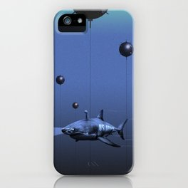 Shark Bomb iPhone Case