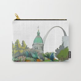 St. Louis cityscape 1 Carry-All Pouch