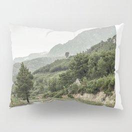 Makarska Riviera in rain Pillow Sham