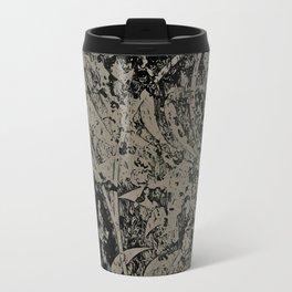 Abstract - Floral Crush Travel Mug