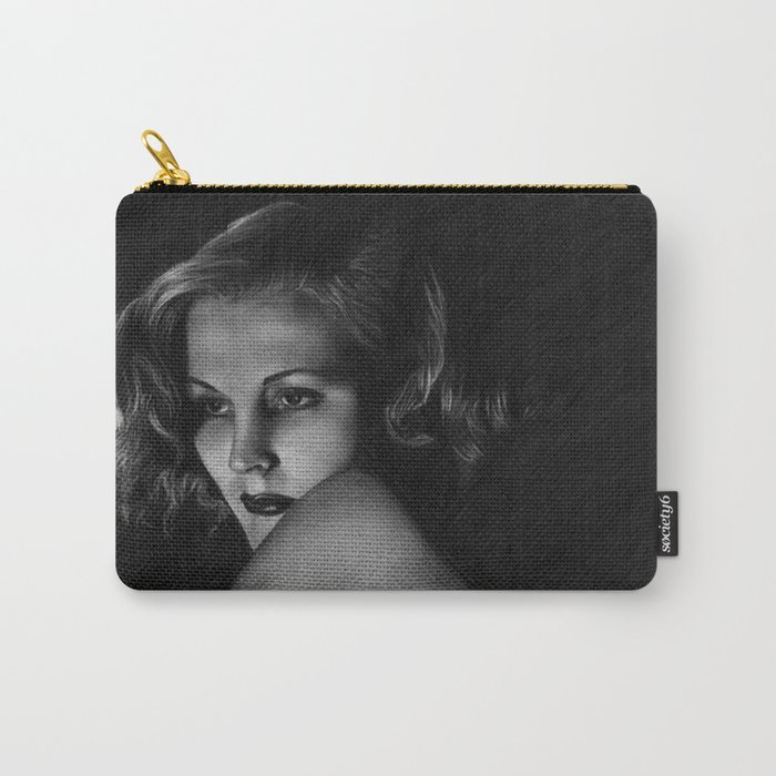 Nude vintage girl Carry-All Pouch