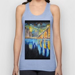 Stone Arch Bridge  Unisex Tank Top