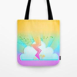 Lightning festival Tote Bag