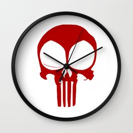 Punisher dead pool Wall Clock