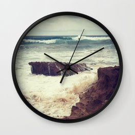 Photobombed By The Surfer Wall Clock