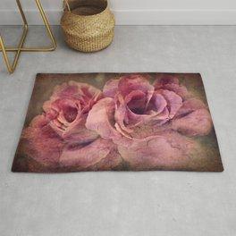 Vintage Roses - Deep Pink Rug