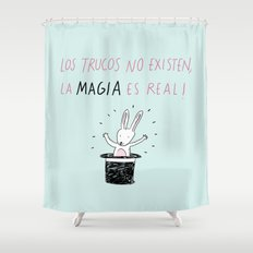 La magia Shower Curtain