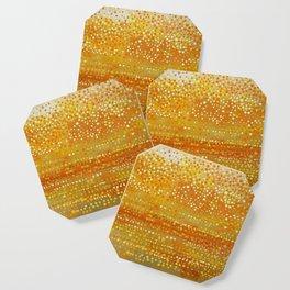Landscape Dots - Orange Coaster