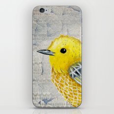 Yellow Warbler Tilly (Vintage Edition) iPhone & iPod Skin
