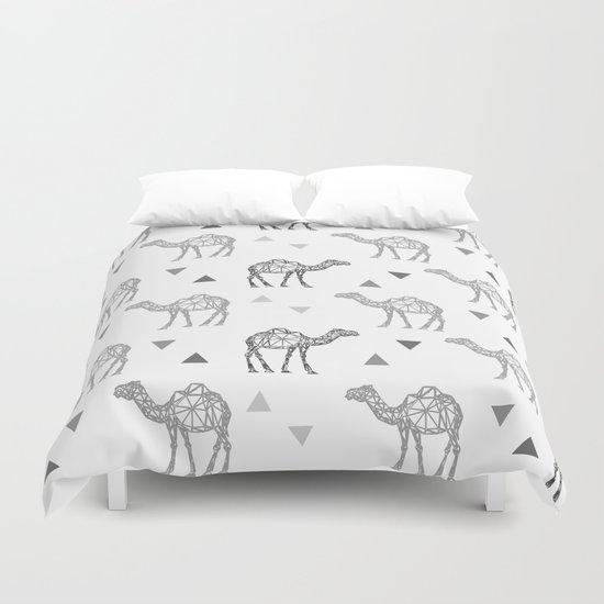 Camel Pattern Duvet Cover