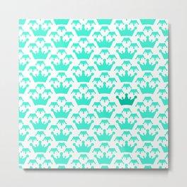 Crown background #society6 #decor #buyart #artprint Metal Print