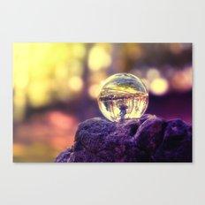 COLLECTION »CRYSTAL BALL« | Last Light Canvas Print