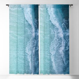 Turquoise Sea Blackout Curtain