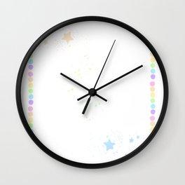 DippinStars Wall Clock