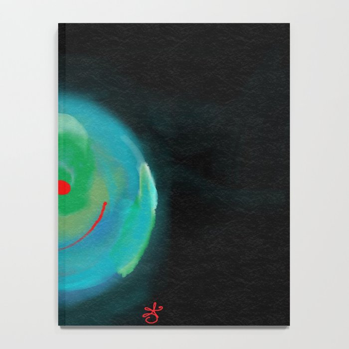 Smiling Planet Notebook