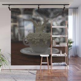 Literal Latte Art Wall Mural