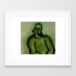 """""""G"""" Framed Art Print"""
