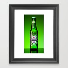 Ice cold Heineken Framed Art Print