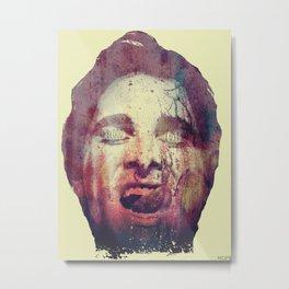 BLOODLUST (Patrick Bateman of American Psycho) Metal Print