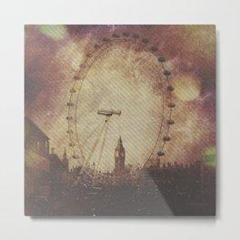 Big Ben in the Eye of London Metal Print
