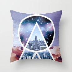 DREAMCITY Throw Pillow