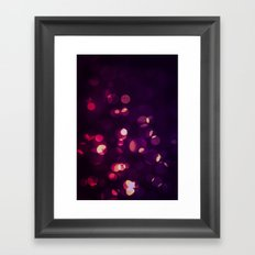 Glowing II Framed Art Print