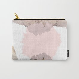 Pale Pink on Mountains Carry-All Pouch