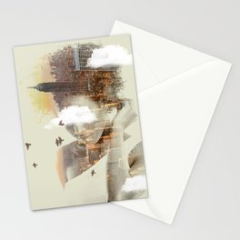 New York City dreaming Stationery Cards