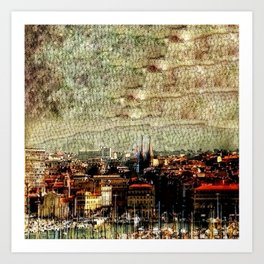 Marseilles Art Print