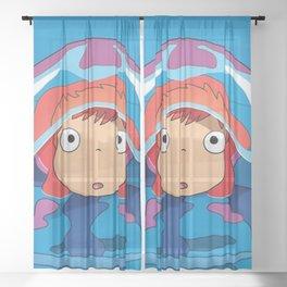 Ponyo Sheer Curtain