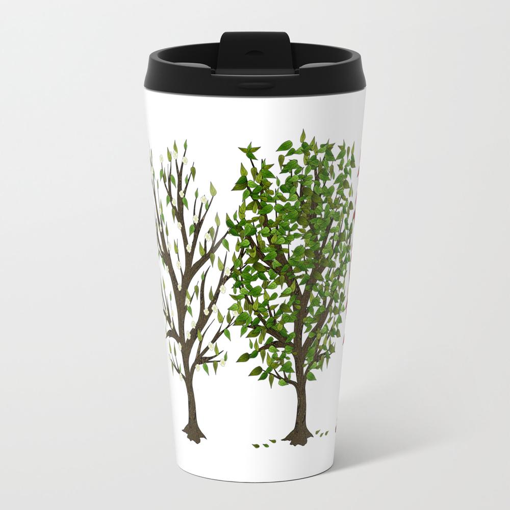 Four Seasons Of Trees Travel Mug TRM8011833