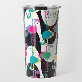 Flamingos Goes to Copacabana Travel Mug