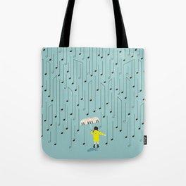 Singing in the Rain v2 Tote Bag
